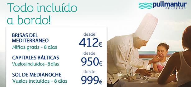 OFERTAS CRUCEROS PULLMANTUR