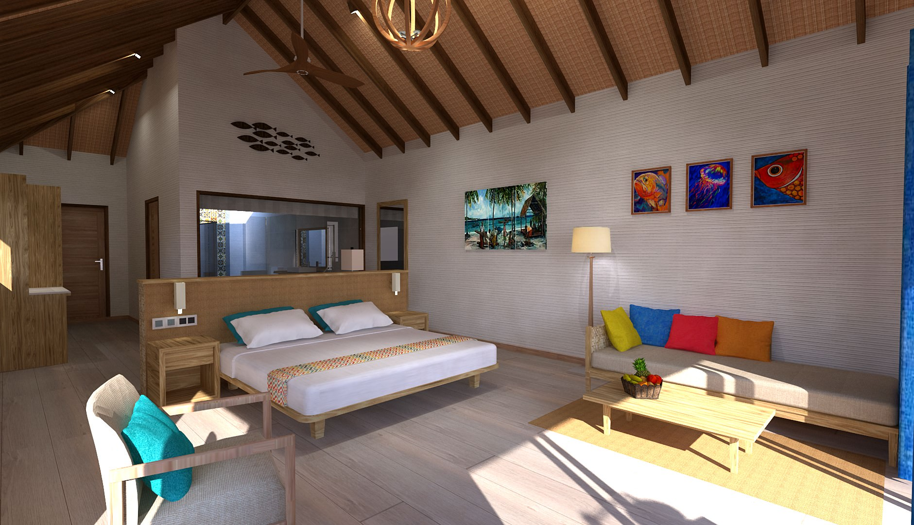artists-impressions-Water-villa-interior